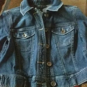 Style & Co short denim jacket